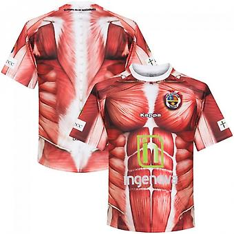 2016-2017 Deportivo Palencia Kappa authentiek thuis Shirt