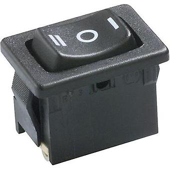 Toggle switch 250 Vac 6 A 1 x On/Off/On Marquardt 1808.0111 IP40 latch/0/latch 1 pc(s)