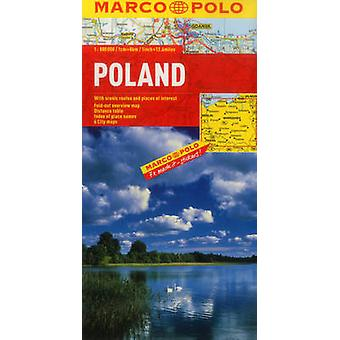 Poland Marco Polo Map by Marco Polo