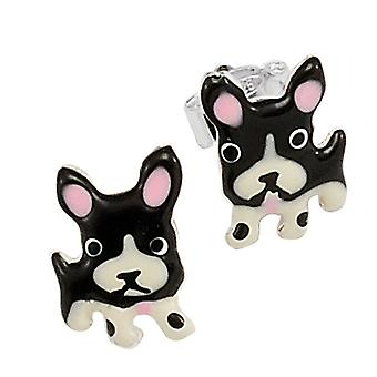 Scout children earrings ear cutter silver dogs girl 262172100