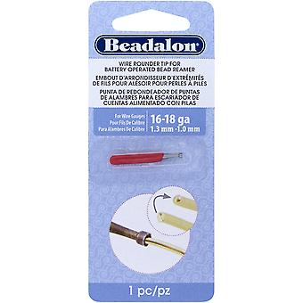 Battery Operated Bead Reamer Wire Rounder Tip 16-18 Gauge-  208F-004