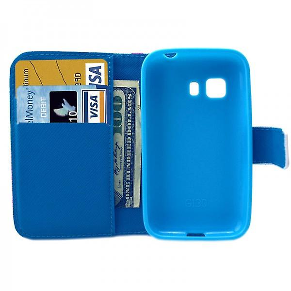 Cover wallet pattern 48 for Samsung Galaxy young 2 G130