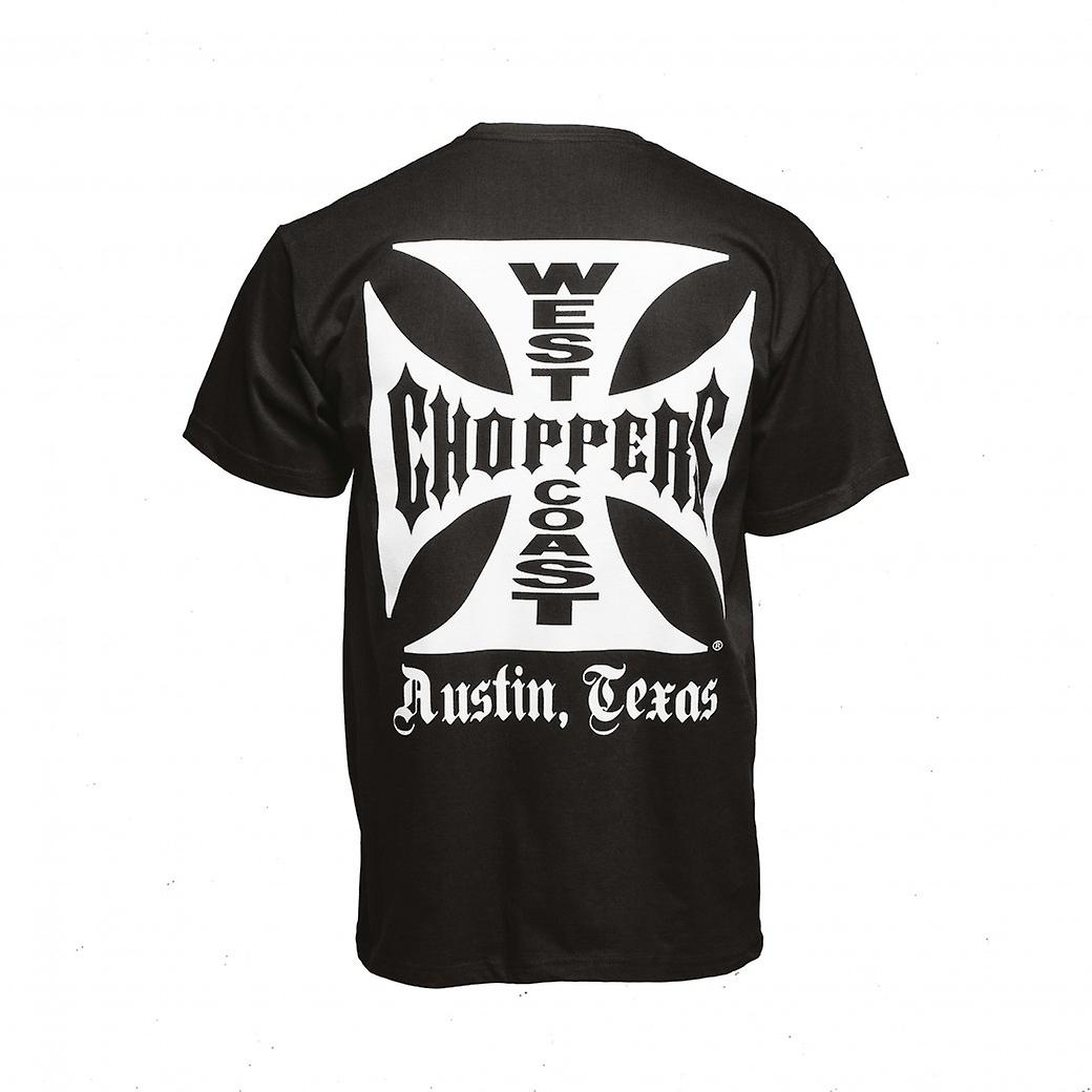 West Coast Choppers T-shirt Iron Cross ATX