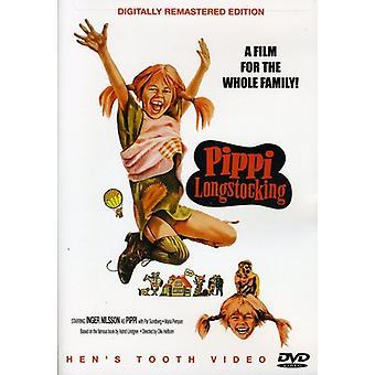 Pippi Longstocking [DVD] USA importerer
