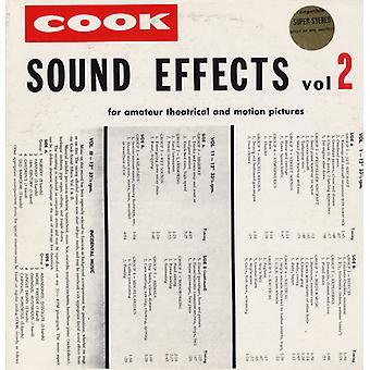 Lydeffekter - Vol. 2-lydeffekter [CD] USA importerer