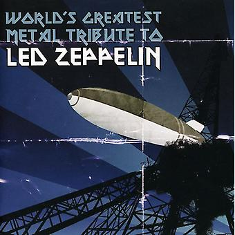 World's Greatest Metal Tribute to Led Zeppelin - World's Greatest Metal Tribute to Led Zeppelin [CD] USA import