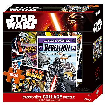 Star Wars Collage Puzzle [1000 Pieces]