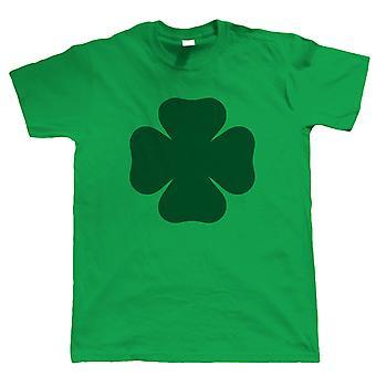 Vectorbomb, Four Leaf Clover, Mens Irish Tshirt (S to 5XL)
