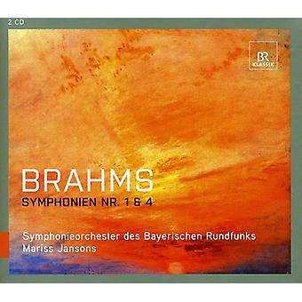 J. Brahms - Brahms: Symphonien nr. 1 & 4 [CD] USA import