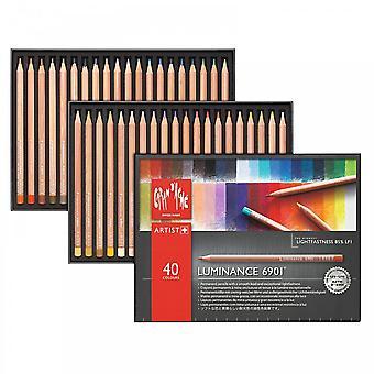 Caran d ' Ache Luminance 6901 Farbstifte - Box 40