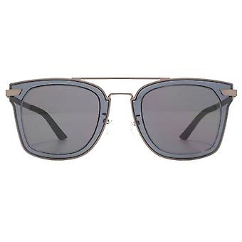 Police Halo 1 Sunglasses In Matte Gunmetal