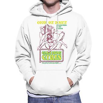 Sexy Game Show flickor priset är rätt Mäns Hooded Sweatshirt