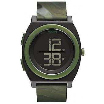 Nixon The Time Teller Digi Watch - Marbled Camo