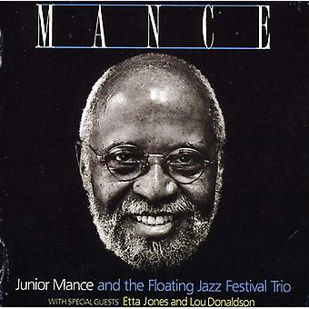 Junior Mance Trio - Mance [CD] USA importerer