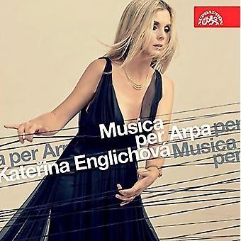Katerina Englichova - importación de Estados Unidos Musica por Arpa [CD]