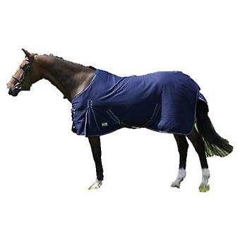 QHP Summer blanket Blue (Horses , Horse riding equipment , Bed covers , Summer)