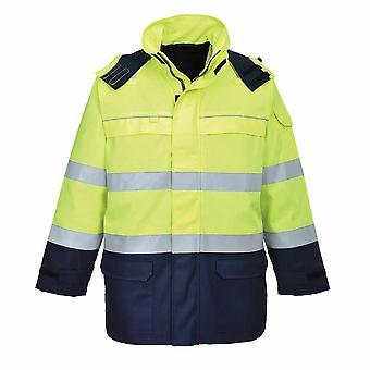 Portwest - Bizflame Flame Resistant Multi Arc Hi-Vis Safety Workwear Jacket
