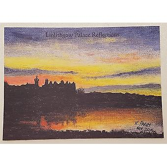 Keith Parry Artist - Linlithgow Palace Postcards