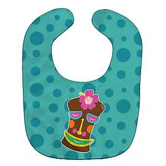 Carolines skarby BB8815BIB Tiki twarzy dziewczyna Baby Bib