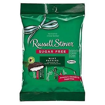 Russell Stover sjokolade sukker gratis Mint karbonader 2 Bag Pack