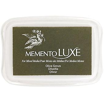 Memento Luxe Ink Pad-Olive Grove ML-708