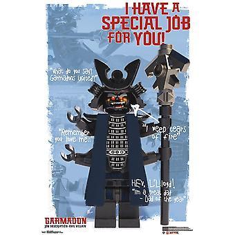 LEGO Ninjago - Garmadon plakatutskrift