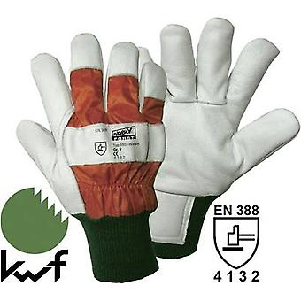 worky 1603 Wiesel Forst - Forestry protection glove, Size 11 Upper material: c