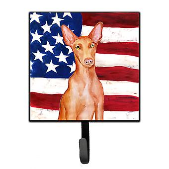 Carolines Treasures  BB9715SH4 Pharaoh Hound Patriotic Leash or Key Holder