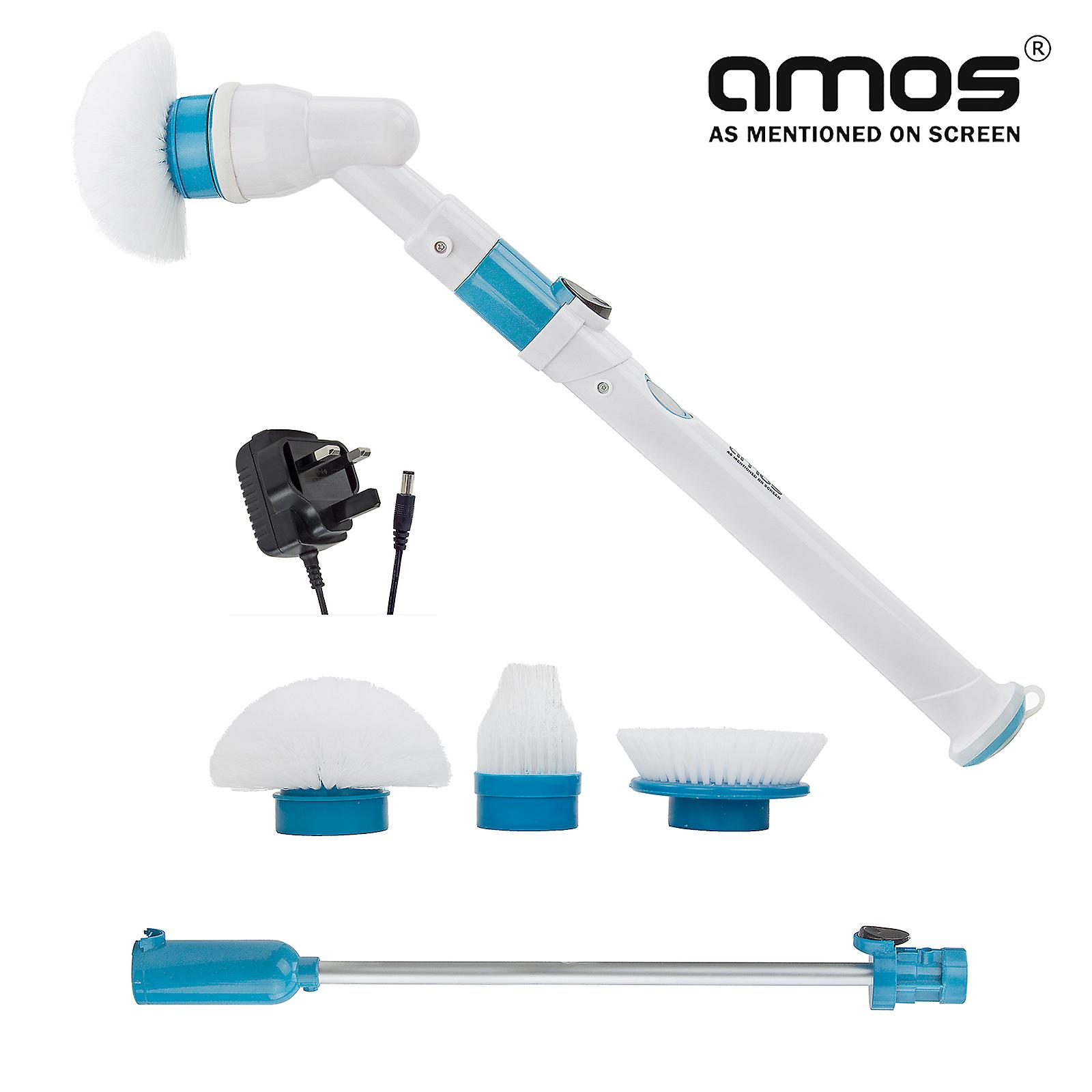AMOS Super Scrubber Spin Brush