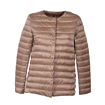 Save the duck women's D4442WIRIS600144 gold polyester Quilted Jacket