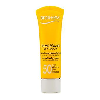 Biotherm Creme Solaire SPF 50 Dry Touch UVA/UVB Matte Effect Face Cream 50ml/1.69oz