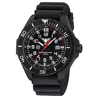 KHS watches mens watch black steel KHS country leader. LANBS. DB