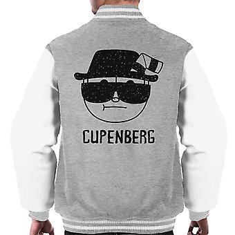 Cupenberg Breaking Bad Cuphead menn Varsity jakke