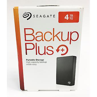 Seagate 4 TB Backup Plus USB 3.0 Portable 2.5 Inch External Hard Drive for PC and Mac - Black