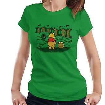 Winnie The Pooh Hunny Trap Alien Women's T-Shirt