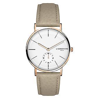 LIEBESKIND BERLIN ladies watch wristwatch leather LT-0111-LQ