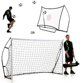 QuickPlay - Kickster combo - football goals/rebounder