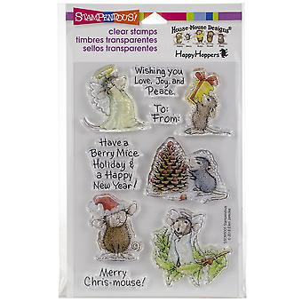 Stampendous Perfectly Clear Stamps -Merry Mice