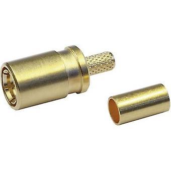 SMB connector Socket, straight 50 Ω Telegärtner J01161A0691 1 pc(s)