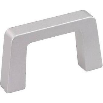 Handle Aluminium (L x W x H) 146.5 x 12.2 x 40 mm Mentor 268.03 1 pc(s)
