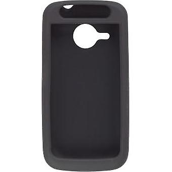 Premium Thick Silicone Soft Gel Skin Case for the HTC Eris 6200 - Black