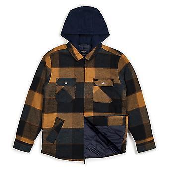Brixton Bowery chaqueta Marina de oro