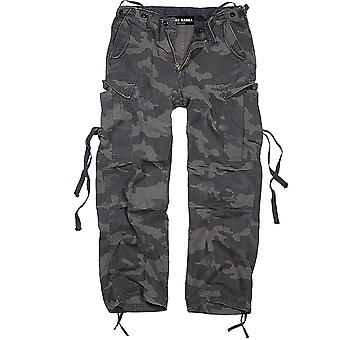 Francis HANNA men's cargo pants Darkcamo
