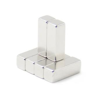 Imán de neodimio 30 x 10 x 10 mm bloque N35 - 50 piezas