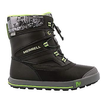 MERRELL kids of winter boots snow Bank 2 WP black