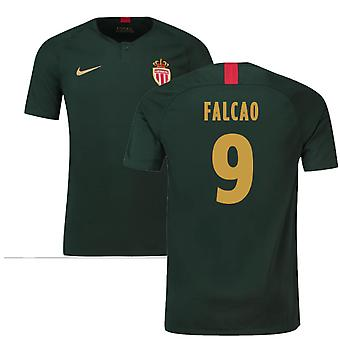 2018-19 Monaco Away Football Shirt (Falcao 9)