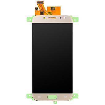 Części zamienne LCD z ekranem dotykowym dla Galaxy J7 2017 - złoto