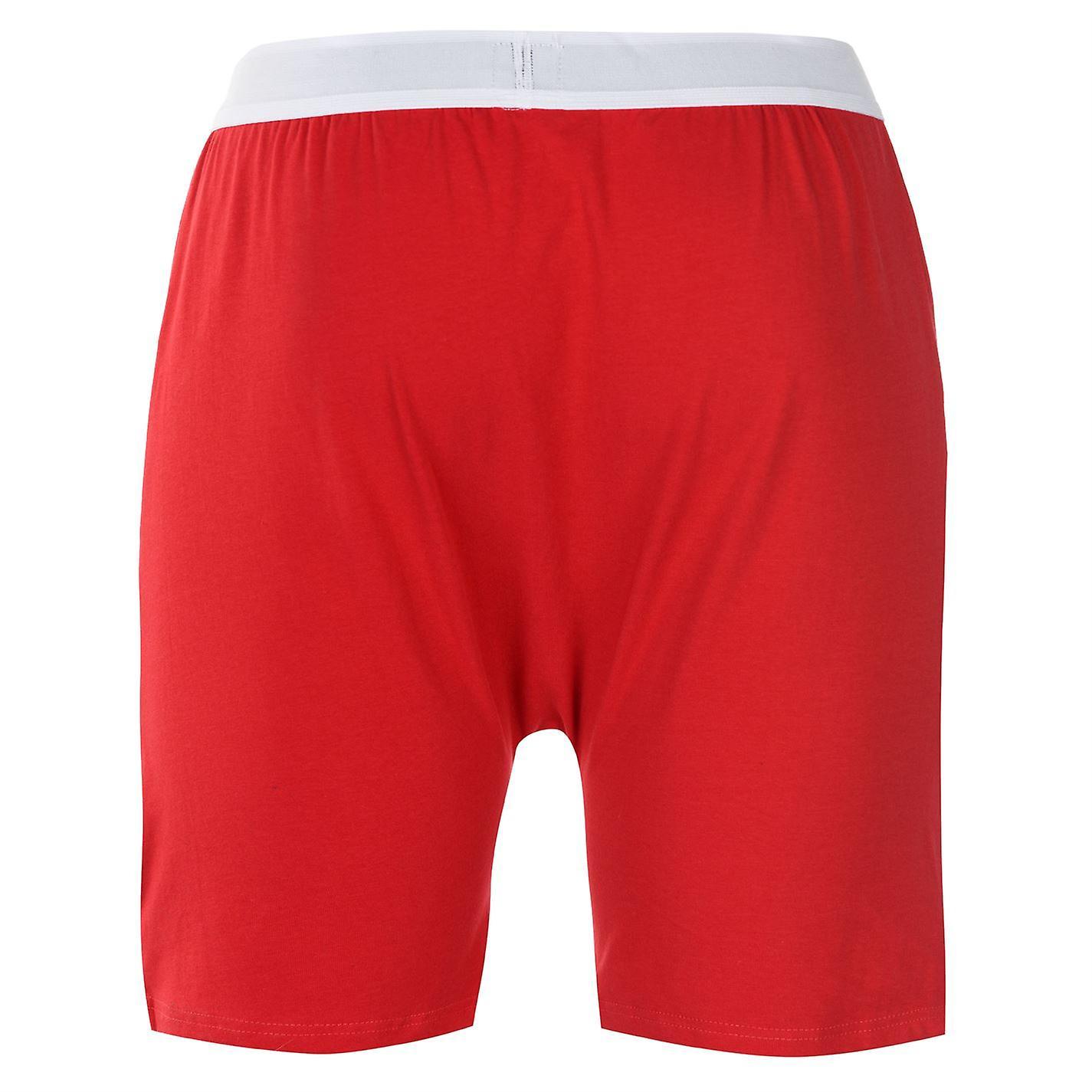 D555 Mens Christmas Claus Boxer Shorts Underwear Elasticated Waist