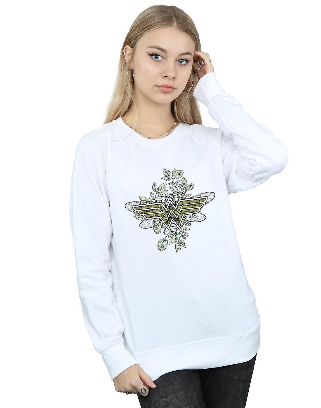 DC Comics femmes&s Wonder femme Butterfly Logo Sweatshirt