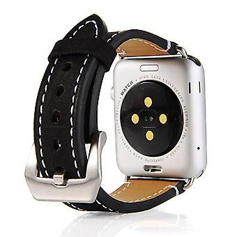 Matt 3/2/1 riem voor Apple Watch 42 mm-zwart